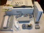 Nintendo-Wii-Console-Wit-+-Wii-Sport-spel-in-doos-Gebruikt