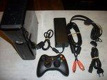 Xbox-360-Spelcomputer-Slimline-250GB-Gebruikt-+-Controller-+-Headset