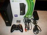 Xbox-360-Slimline-Spelcomputer-Zwart-4GB-Gebruikt