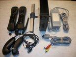 Nintendo-Wii-Console-Zwart-Gebruikt-2-Players