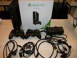 Xbox-360-Slimline-Spelcomputer-Zwart-250GB-2-Controllers-Zo-Goed-als-Nieuw
