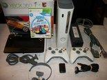 Xbox-360-Spelcomputer-+-2-Controllers-Gebruikt-met-20GB-HD-en-U-Drwaw-Tekentablet