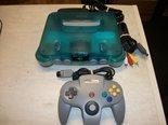 Console-N64-Spelcomputer-Blauw-Compleet-met-Controller