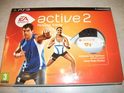 Trainingset EA Sports Active 2 voor Playstation 3 Nieuw