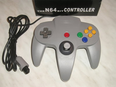 Controller Nintendo 64 ***Grijs