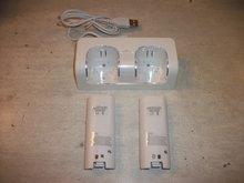 Oplaadstation voor 2 Wii Remotes Wit  Nieuw Was 24.99 Nu 9.99