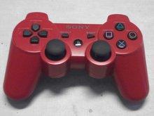 Controller Playstation 3 Dualshock Draadloos Sixaxis Sony Rood Gebruikt