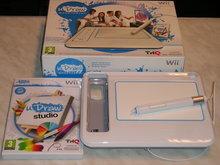 U Draw GameTablet voor  Nintendo Wii Gebruikt + Spel U Draw Studio