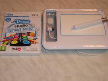 U Draw GameTablet voor  Nintendo Wii Gebruikt + Spel Instant Artist