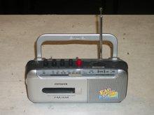 portable radio cassette recorder Nieuw.