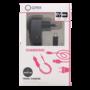 Qtrek-Travel-Charger-Micro-USB-15M-2.4A-Black