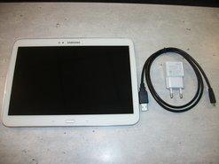 Tablet-Samsung-Galaxy-Tab-3--10.1-Inch-Gebruikt-Wit-met-Oplader-en-Kabel